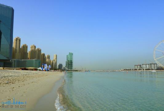 Beach at JBR Dubai