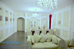 Living room in holiday apartment for rent at Sadaf JBR Dubai