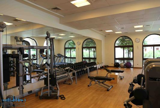Fitness in Fairmont Residence at Palm Jumeirah in Dubai