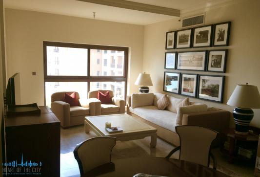 Living room in Apartment for sale in Fairmont Residence North