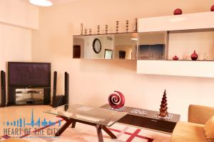 Living room in Holiday Apartment at JBR in Dubai
