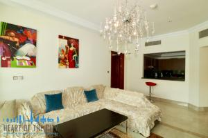 2-Bedroom holiday apartment in Fairmont at Palm Jumeirah in Dubai