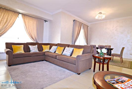 Sitting Area in apartment - vacation rental at Shams JBR Dubai