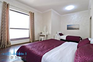 Master Bedroom in apartment for short term rent at Shams JBR Dubai