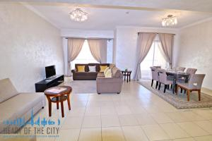 Living Room in holiday apartment at Shams JBR Dubai