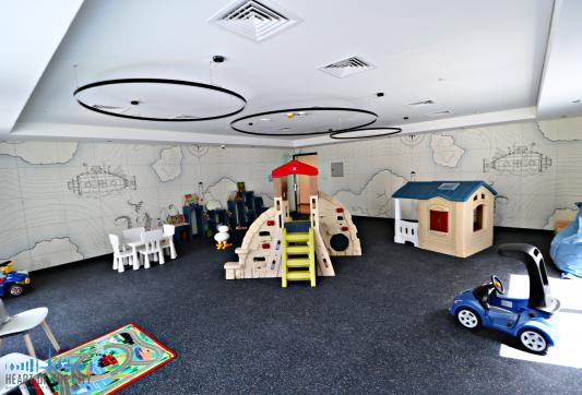 Kids area in Belgravia II at JVC Dubai