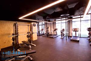 GYM in Belgravia II at JVC Dubai