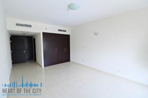 Bedroom in apartment for rent in Fortunato 1 at JVC in Dubai