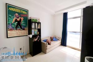 Bedroom in apartment-duplex for rent in Sky View Tower in Dubai Marina