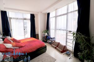 Master bedroom in apartment-duplex for rent in Sky View Tower in Dubai Marina