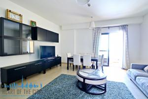 Living room in Apartment for vacation rental in Bahar JBR Dubai