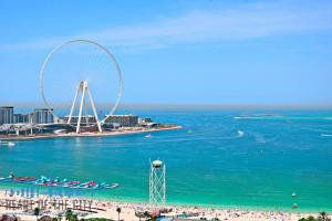 Seaview from Apartment for vacation rental in Bahar JBR Dubai
