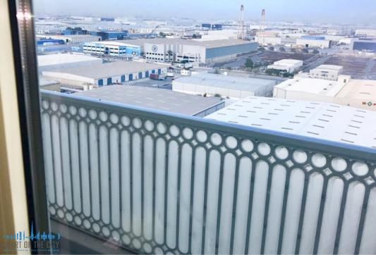 View form the Apartment for rent in Suburbia at Downtown Jebel Ali in Dubai