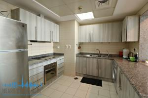 Kitchen in apartment for sale in Madina Tower at JLT Dubai
