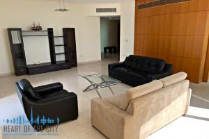 Living room in apartment for sale in Madina Tower at JLT Dubai