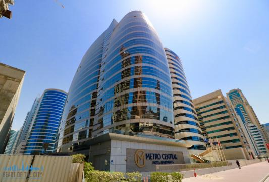 Metro Central Hotel Apartments at Barsha Heights in Dubai
