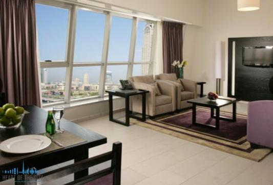 Apartment in Metro Central at Tecom in Dubai