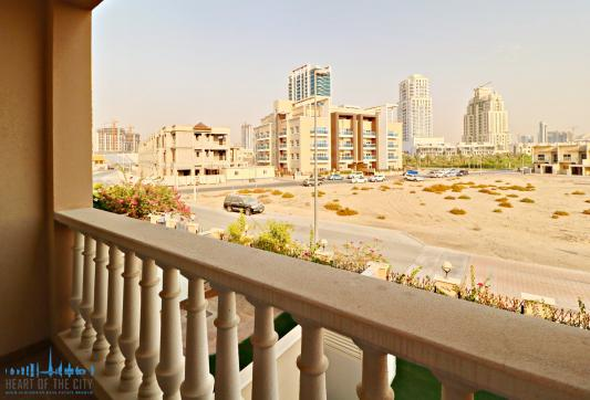 View from Townhouse for sale/rent in JVC Dubai