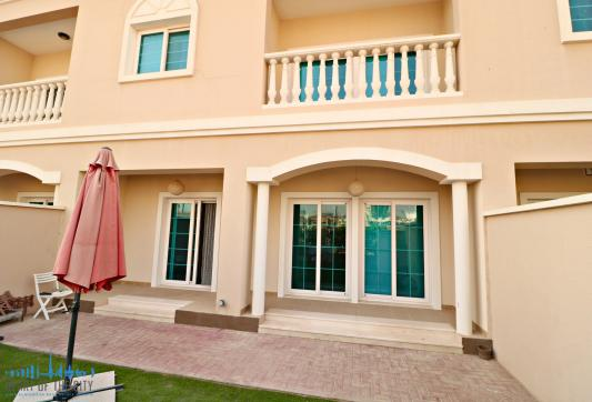 Yard of Townhouse for sale/rent in JVC Dubai
