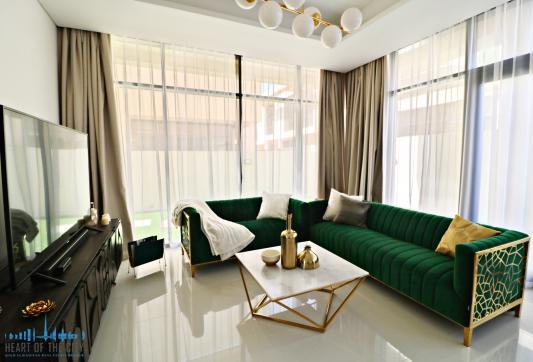 Sitting area in Townhouse for rent in Calero Damac Hills in Dubai