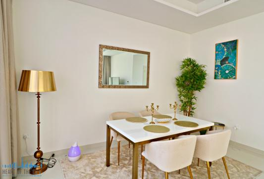 Dining area in Townhouse for rent in Calero Damac Hills in Dubai