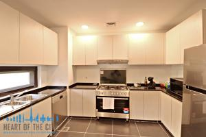 Kitchen in Townhouse for rent in Calero Damac Hills in Dubai