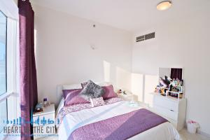 Bedroom in apartment for sale in Hub Canal 2 at Dubai Sports City