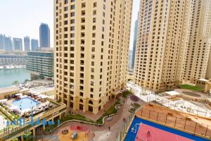 View from Apartment for rent in Bahar at JBR Dubai