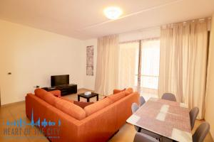 Dining area in Apartment for rent in Bahar at JBR Dubai