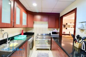 Kitchen in Apartment for rent in Sadaf-2 JBR Dubai