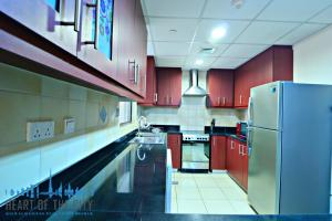 Kitchen in apartment for rent in Rimal-1 at JBR Dubai