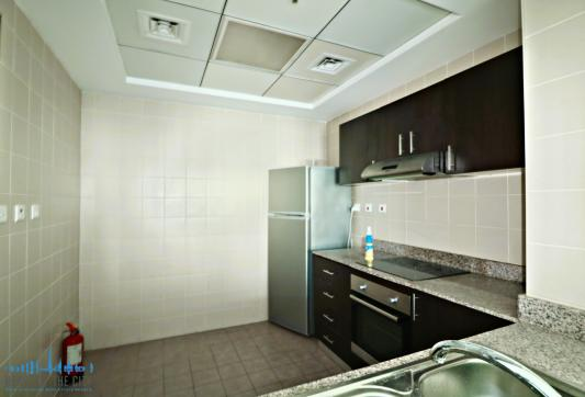 Kitchen in Apartment for sale in Torch Tower in Dubai Marina