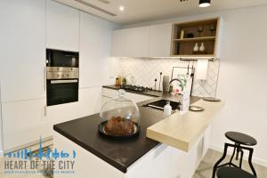 Kitchen in Apartment for sale in Belgravia Square at JVC Dubai/Ellington Group