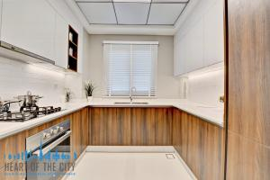 Kitchen in apartments for sale in Prime Views at Avenu Meydan in Dubai