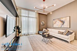 Sitting area in apartments for sale in Prime Views at Avenu Meydan in Dubai