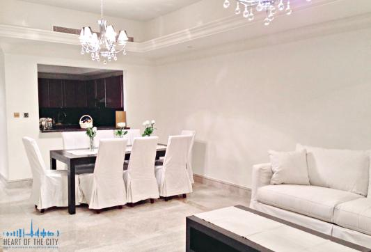 Living Room in Apartment for rent in Fairmont South Residence in Palm Jumeirah Dubai