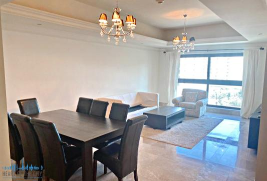 Dining Area in Apartment for rent in Fairmont South Residence in Palm Jumeirah Dubai