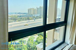 View from Apartment for rent in Fairmont South Residence in Palm Jumeirah Dubai