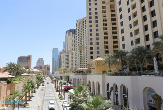JBR Walk in Dubai