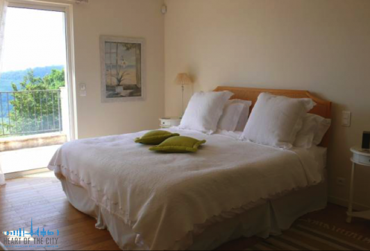 Bedroom in Villa at Tourrettes-sur-Loup in France
