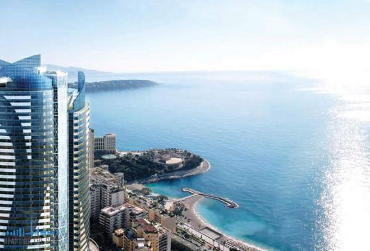 Apartments for sale at Tour Odeon in Monaco