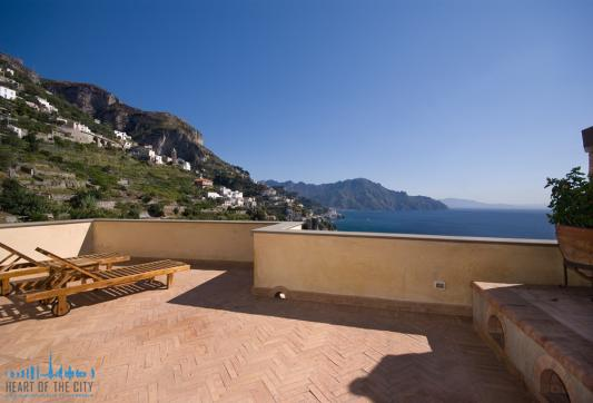 Villa in Amalfi in Italy