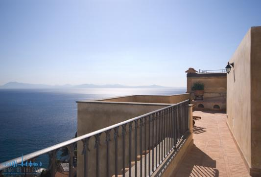Villa for short-term rent in Amalfi in Italy