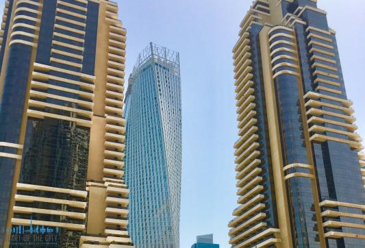 view from apartment for sale in botanica at dubai marina