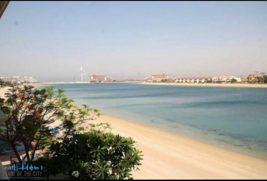 Beach for Villa at Frond D of Palm Jumeirah