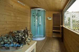 Sauna in Signature Villa for sale at Frond P of Palm Jumeirah