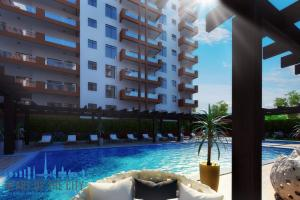 Swimming Pool in AZIZI Liatris Residence in development Al Furjan at Dubai