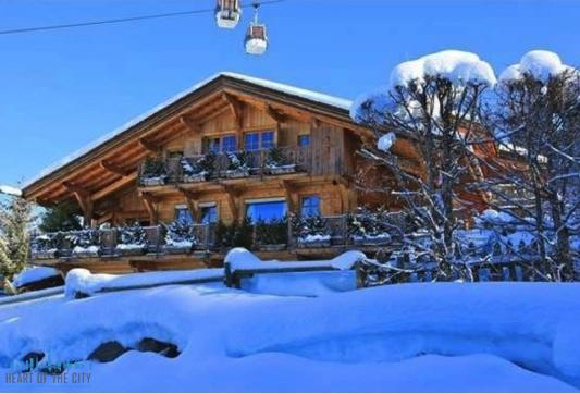 Chalet for rent in Megeve in France