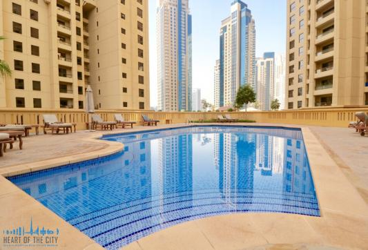 Swimming pool at Rimal JBR