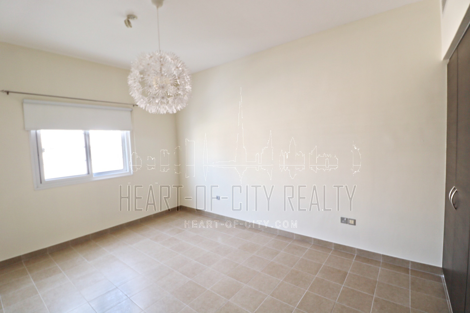 Second bedroom  in Townhouse for rent/sale at JVC Dubai